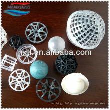 Bola de flutuador de polipropileno suspenso & Bio bola de enchimento para tratamento de águas residuais