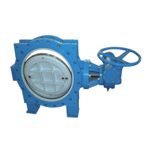 Flanged Butterfly valve Double Eccentric Flanged Butterfly Valve with Gearbox