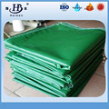Fire resistant 400g-700g green tarpaulin cover