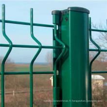 Clôture de la Chine 3D / barrière de forme de 3 V / treillis métallique soudé
