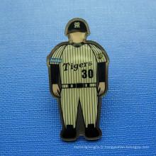 Brochure imprimée décalée, badge d'image humaine (GZHY-OP-015)