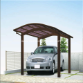 Aluminum Car Parking Shelter with Polycarbonate Roof
