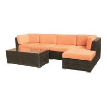 Esquina jardim seção sofá conjunto móveis