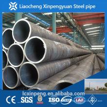 Fabricação e exportador de alta precisão sch40 tubo de aço sem costura de carbono laminado a quente