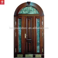 Price Solid Wood Main Door With Glass
