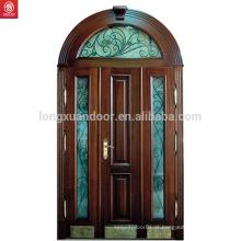 Preço Madeira maciça Porta principal com vidro