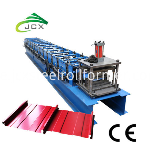 Self Lock Standing Seam Roof Machine