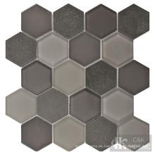 Ideen für Badezimmerbodenmosaikfliesen
