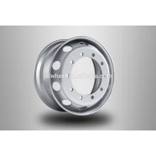 De buena calidad 19.5x6.0 ruedas de acero de la rueda de camiones