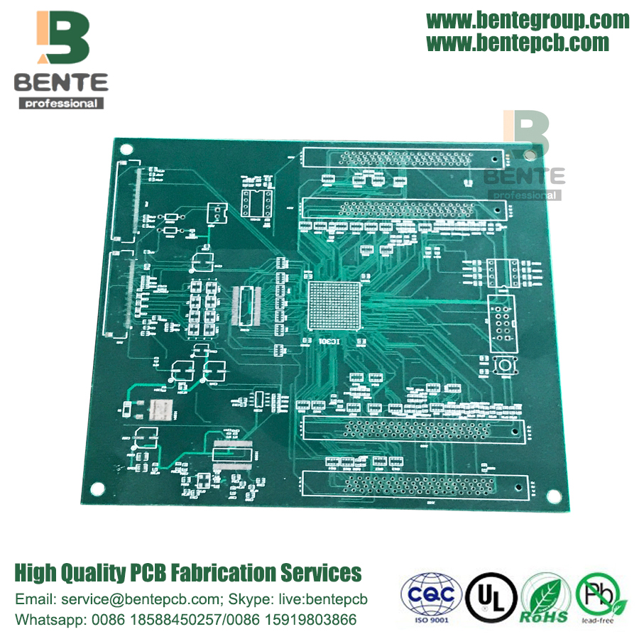 BGA 4 Layers PCB FR4 Tg150 Multilayer PCB HASL lead free