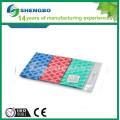 Ткань для чистки салфеткой из нетканого материала Spunlace 30 * 50 см КРАСНЫЙ ЖЕЛТЫЙ ГОЛУБОЙ