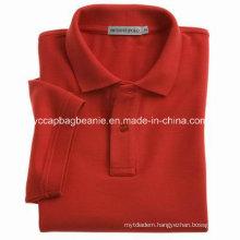 Single Jersey Men′s Polo Shirt