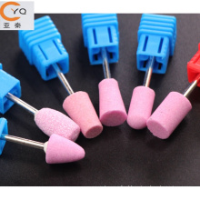 Manicure and pedicure tools silicone nail polisher bit for Russian market