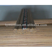 INLAY TEAK WOOD MOULDING FOR HOUSE DECORATION