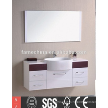 Gabinete caliente del espejo del cuarto de baño del diseño de Europa de la venta con la luz