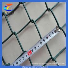 Malla de alambre de diamante recubierto de PVC