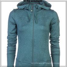 Nylon Running al aire libre UV resistente al viento más la chaqueta de tamaño