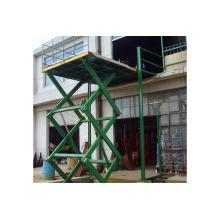 Elevador hidráulico estacionario