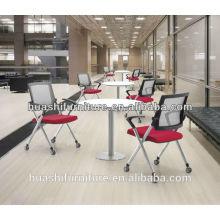 X2-03 nouveau design empilable chaise de formation avec tablette