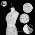 Wholesale latest unique crystal bling wedding dresses for the bride