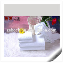 Toiles de qualité 100% coton d'hôtel Serviettes de toilette blanches personnalisées