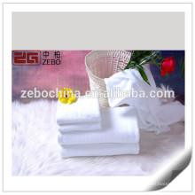 100% хлопок Качество гостиницы полотенца Белый Custom Дешевые полотенца для рук