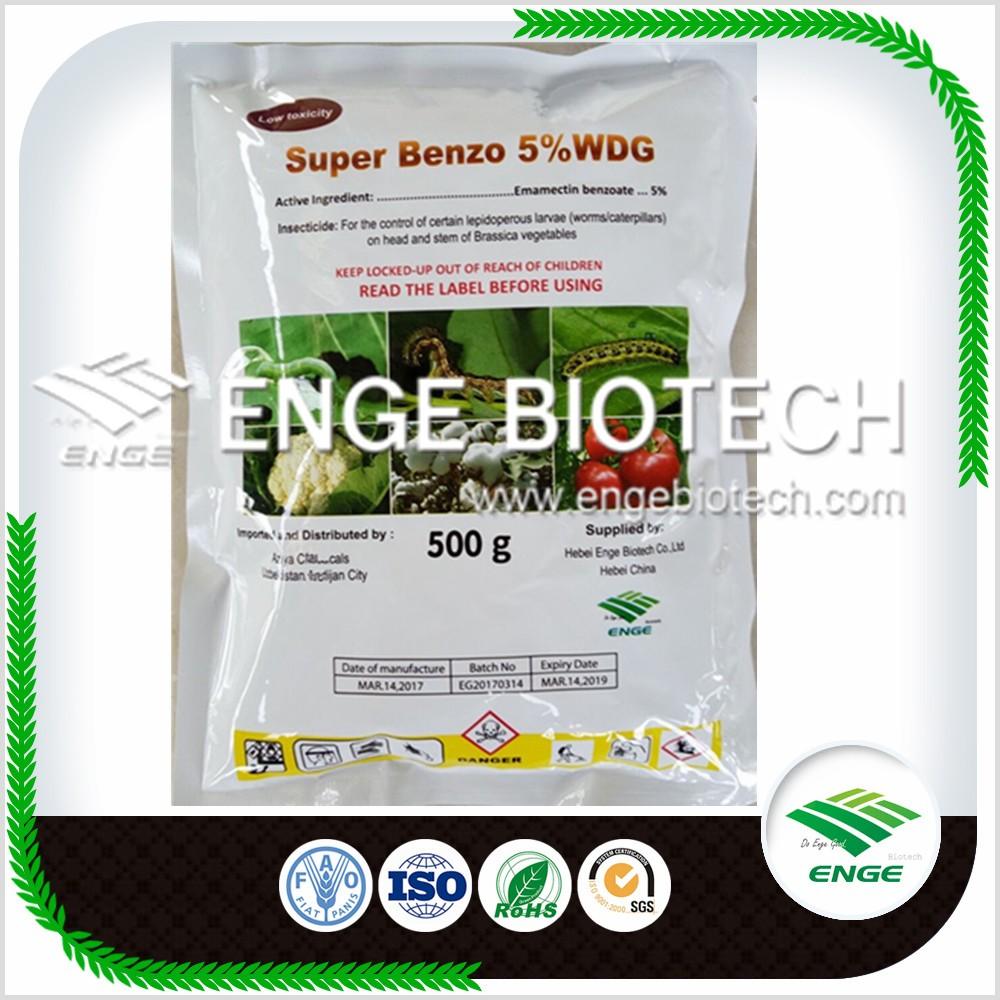 Emamectin Benzoate 5%WDG