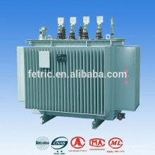 Transformador de aceite de baja pérdida de bobina 13.8kv cobre de 50 / 60HZ