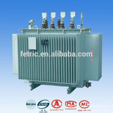50/60HZ low loss copper winding 13.8kv oil transformer