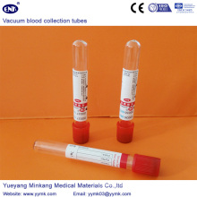 Vacuum Blood Collection Tubes Plain Tube (ENK-CXG-011)