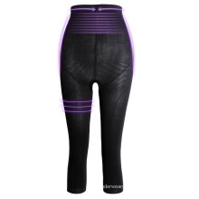 New product breathable tight wave slimming long pants fitness shapewear women