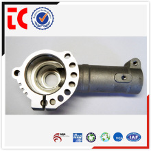 sandblasted sliver custom made gear box die casting