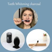 2017 Nuevos dientes que blanquean dientes de pasta de dientes de carbón para blanquear los dientes