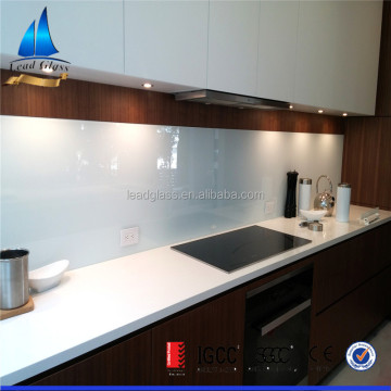Custom Cut Back Painted Glass Wall Panels Price