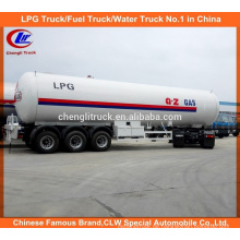 56cbm LPG Auflieger 56000L LPG Transport Anhänger zum Verkauf