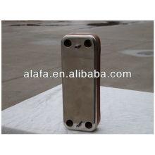 Brasados trocador de calor, trocador de calor pequeno e alta eficiência de placa