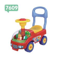 Brinquedo plástico do bebê / passeio-no carro