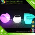 Meubles de boîte de nuit de barre avec la lumière de changement de couleur de RVB LED