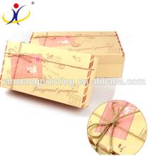 Tamaño personalizado! Cajas de regalo de papel de Kraft de papel marrón al por menor Cajas de jabón de papel de Kraft