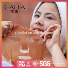 Máscara de chocolate personalizada para nutrir profundamente a pele