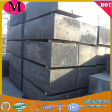 Hgh strength and high pure graphite block for sale