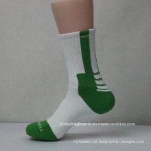 Meias de basquete personalizado de venda quente com MOQ flexível
