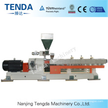 Tsh-75 Masterbatch Parallel Twin Screw Plastic Product Extruder