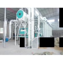 Preis von 2 Tonnen pro Stunde automatische Reismühle Anlage