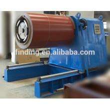 Máquina de decoiler hidráulico automático cheio de preço de fábrica para bobina de aço