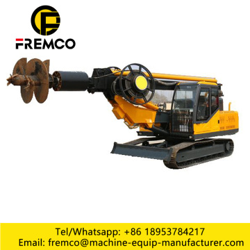 Professional Crawler Rotary Drilling Rig