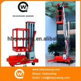 10m single mast hydraulic man lift table