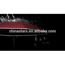 Guarda-chuva impermeável com tubulação refletiva Hi-visível