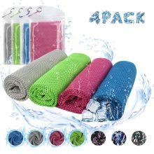 Digitek 4 шт. Cooling Sports Ежедневные полотенца из микрофибры