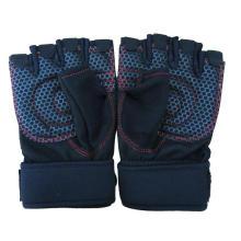Gants d'entraînement Cross Fit Training Gants de protection unisexe WOD Haltérophilie Grip maximum avec poignet supplémentaire